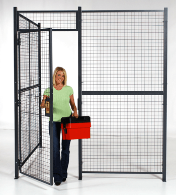 Security Cage Installation