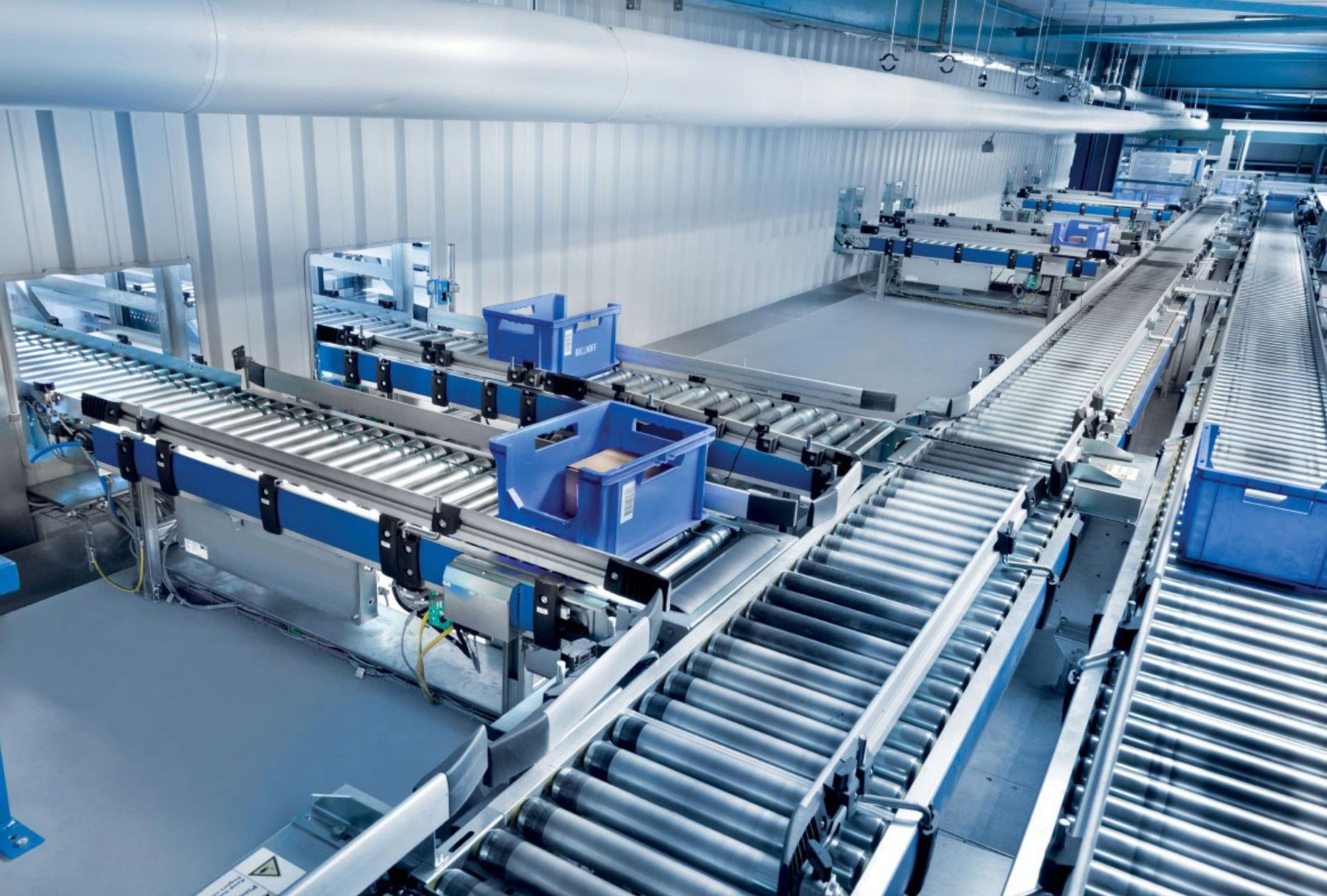 Turnkey Conveyor Systems Qc Material Handling Equipment