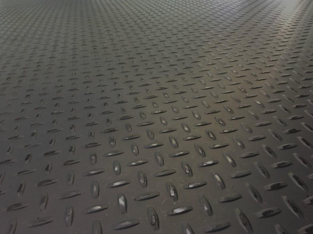 Diamond Plated Mezzanine Decking