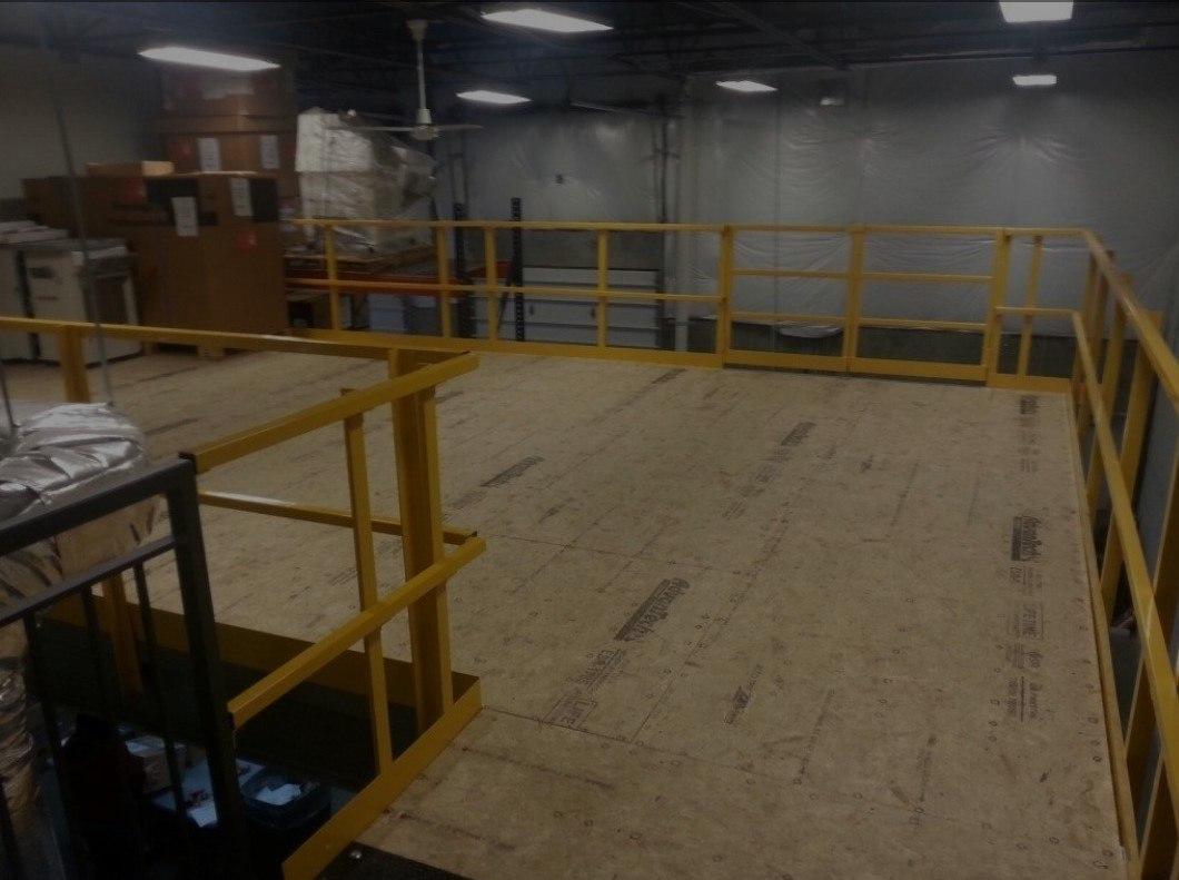 Plywood Mezzanine Decking