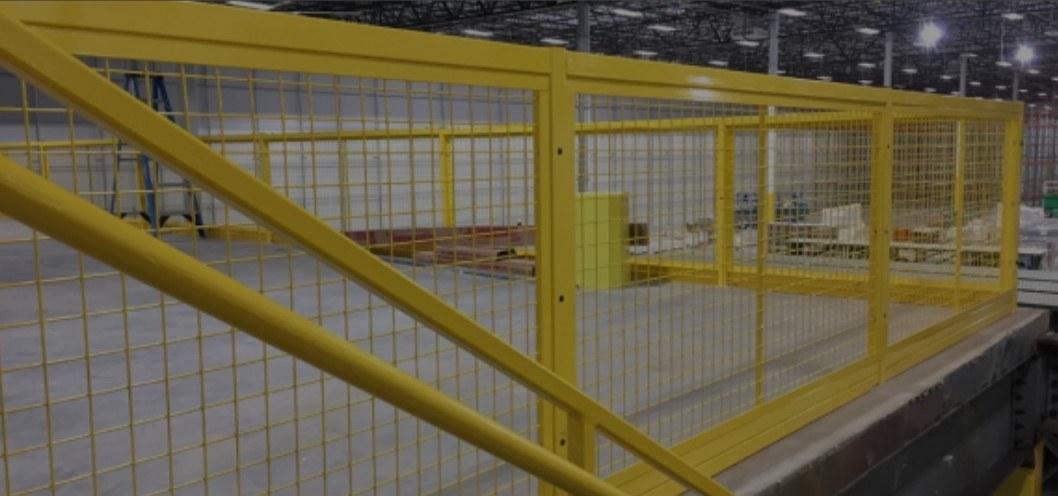 Wire Mesh Mezzanine Handrail