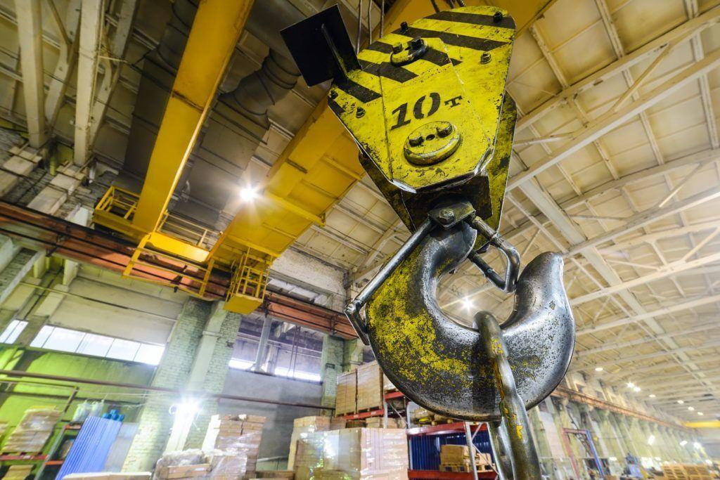 Warehouse Crane Hook