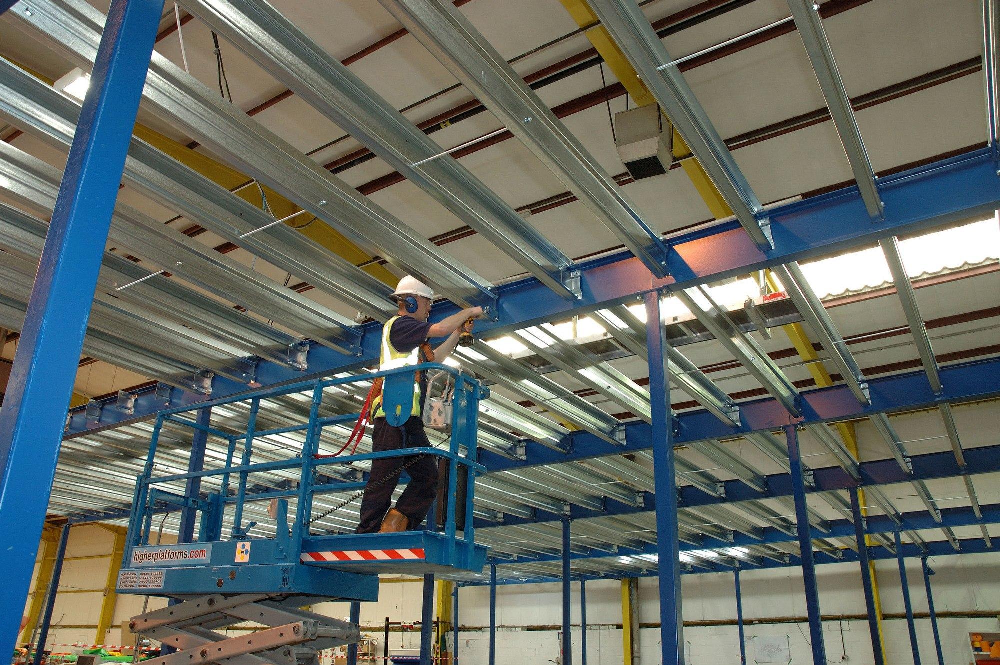 Industrial Mezzanine Installation