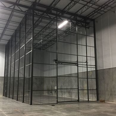 DEA Drug Storage Cage