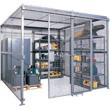 Wire Mesh Tool Crib