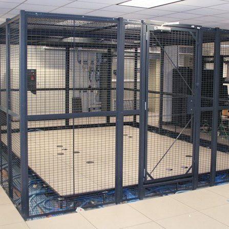 Wire Mesh Server Cage
