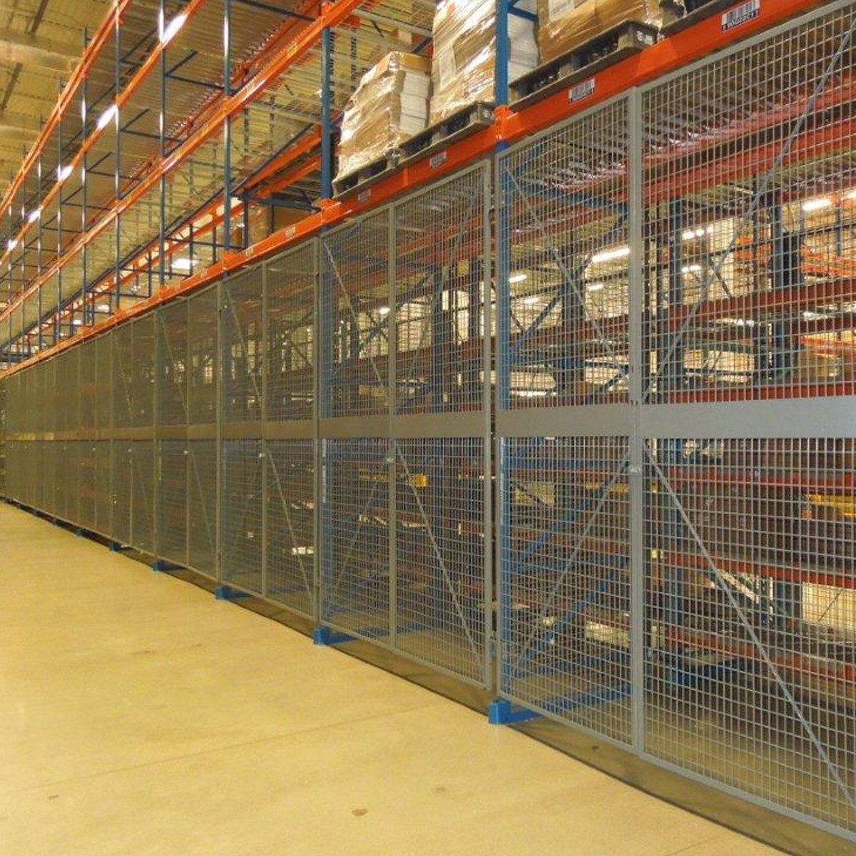 Wire Mesh Pallet Rack Back