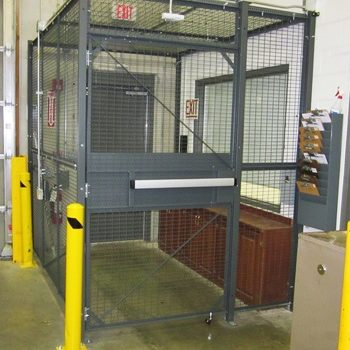 Building Access Cage