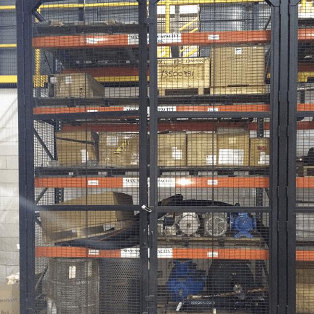 Pallet Racking Enclosure