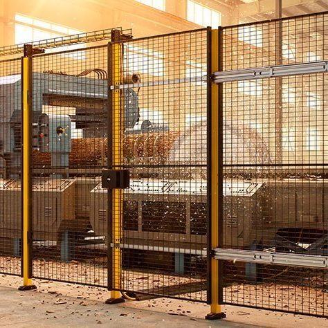 Wire Mesh Machine Guarding