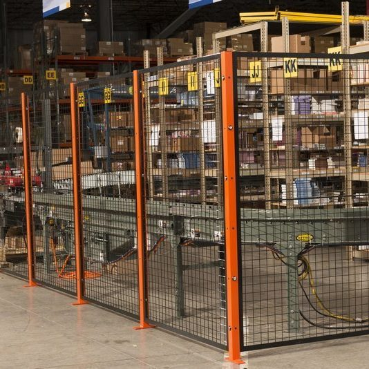 Wire Mesh Machine Guard