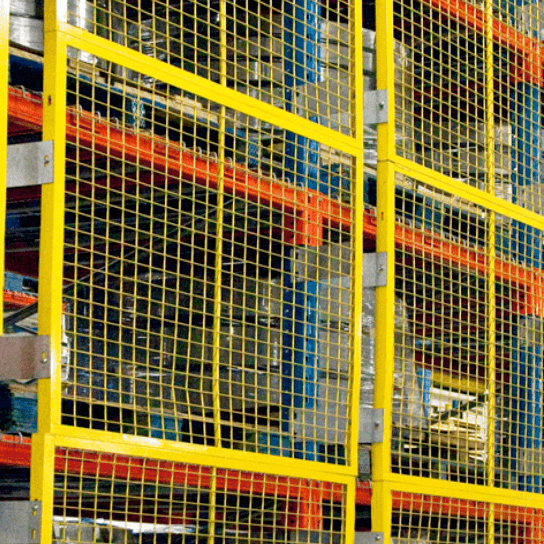 Wire Mesh Rack Back