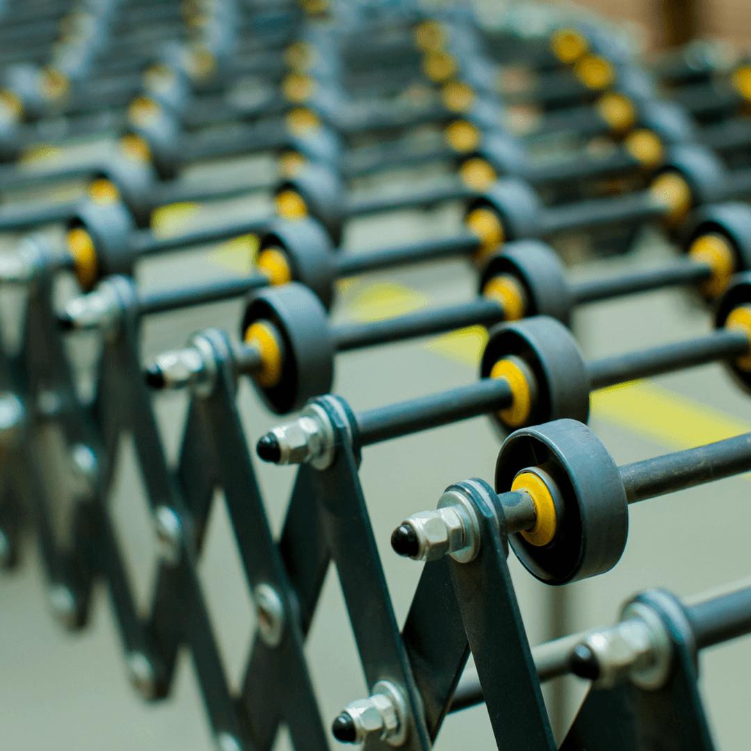 Gravity Skatewheel Conveyor